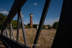Aussichtsplattform mit Blick auf den Wasserturm