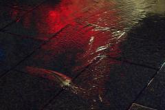 Fließendes Rot
