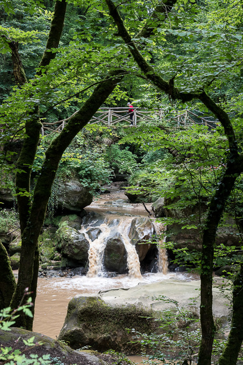 Wasserfall (Foto: Monika Seidel)