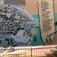 Stadtplan (Foto: Reiner Gruhle)