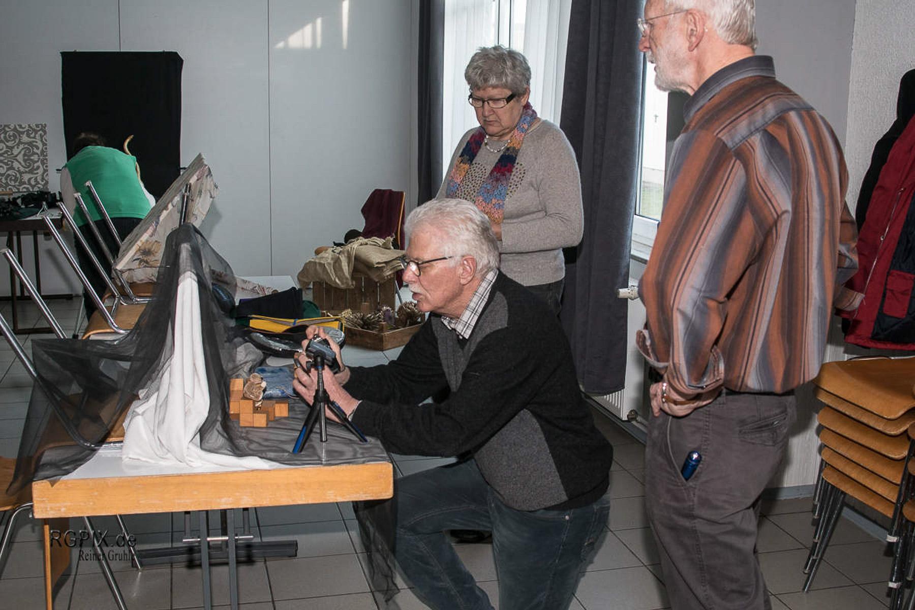 Olaf an Ingrids Aufbau (1) (Foto: Reiner Gruhle)