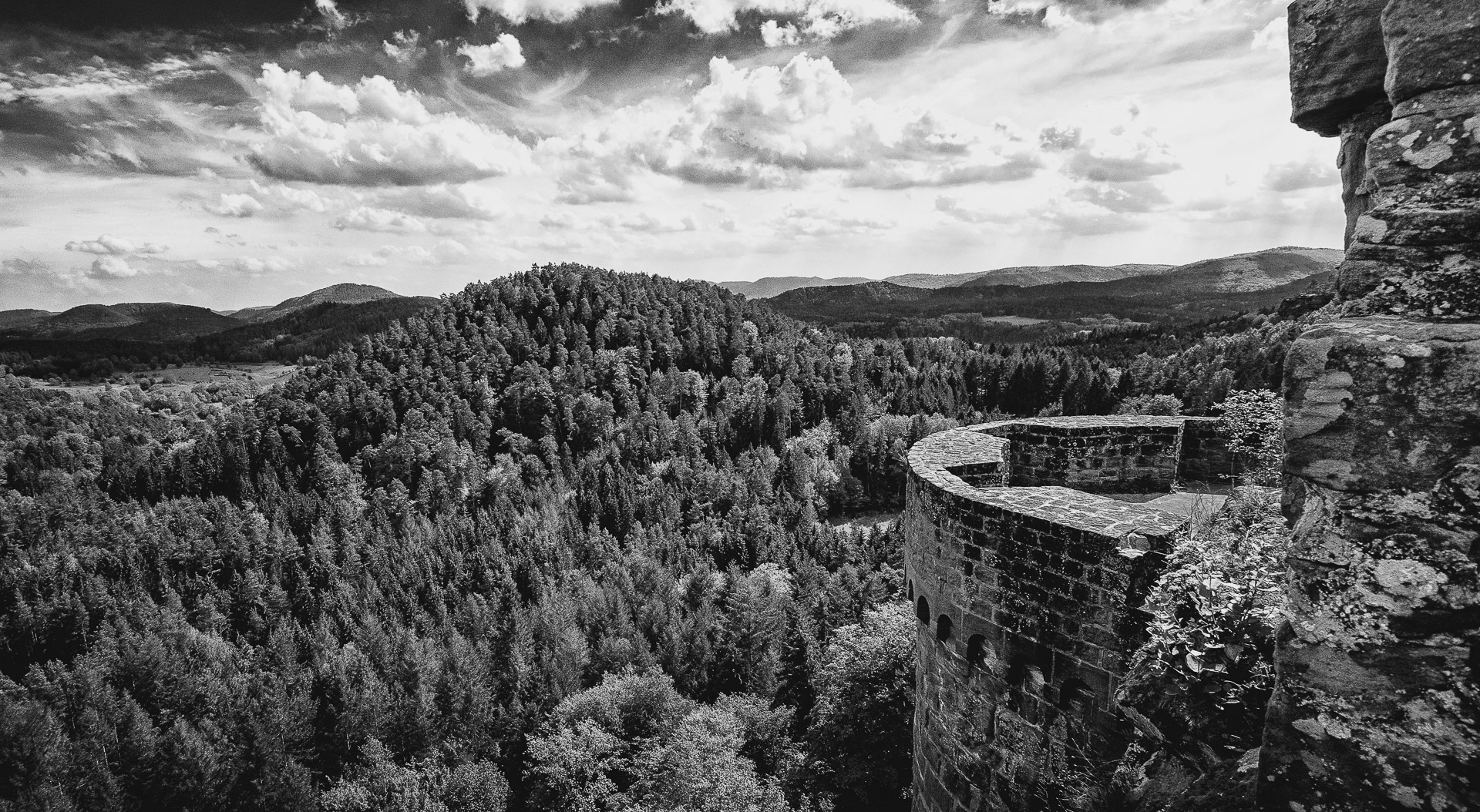Altdahn-Fernblick (Foto: Reiner Gruhle)