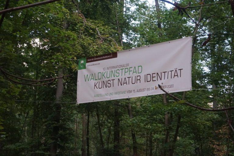 Fotospaziergang Waldkunstpfad Darmstadt