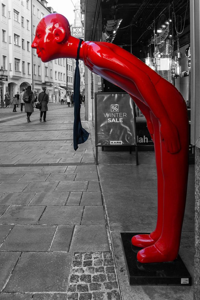 Roter Butler (Foto: Reiner Gruhle)