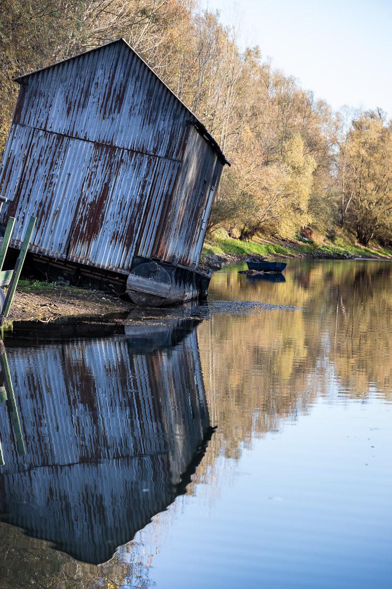 Niedrigwasser (Foto: Monika Seidel)