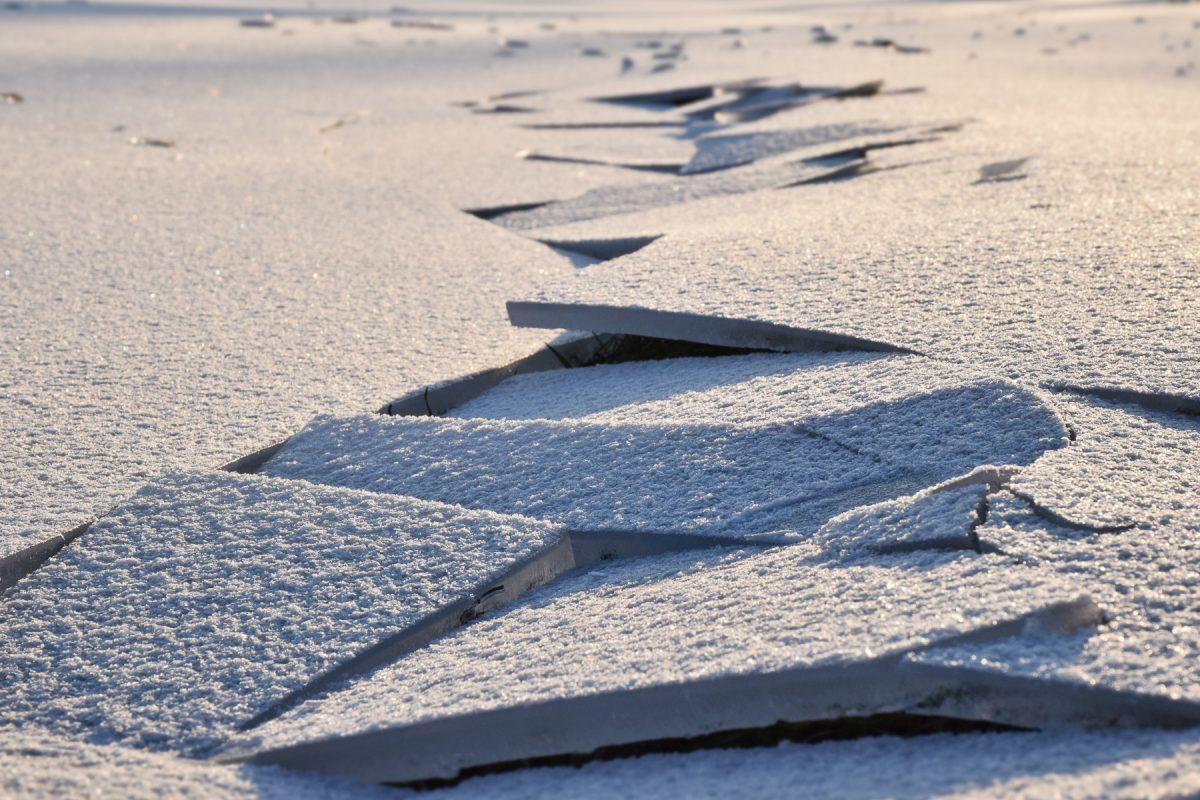 Noch ne Eiskunst am Rhein