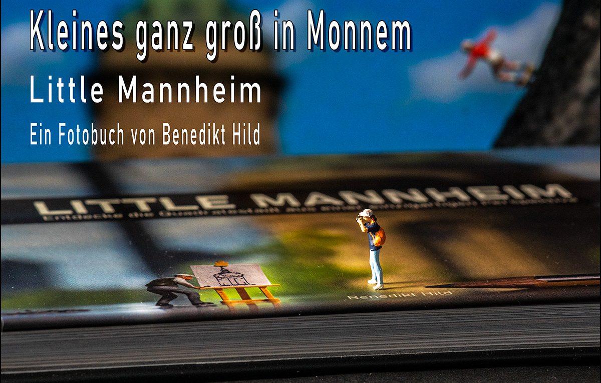 Little-Mannheim - Ein Fotobuch von Benedikt Hild (Foto: Reiner Gruhle, Hintergrund: Benedikt Hild)